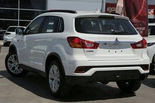 2018 Mitsubishi ASX XC MY19 ES 2WD ADAS White 6 Speed Constant Variable Wagon.