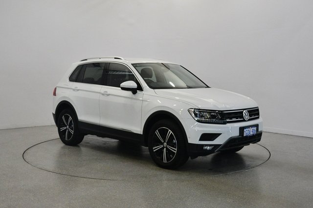 Used Volkswagen Tiguan 5N MY18 110TDI DSG 4MOTION Adventure, 2017 Volkswagen Tiguan 5N MY18 110TDI DSG 4MOTION Adventure Pure White 7 Speed