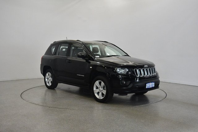Used Jeep Compass MK MY13 Sport CVT Auto Stick, 2013 Jeep Compass MK MY13 Sport CVT Auto Stick Black 6 Speed Constant Variable Wagon
