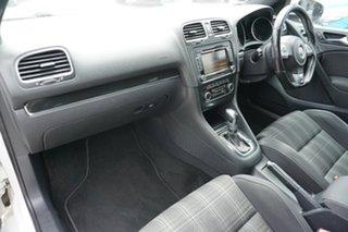 2011 Volkswagen Golf VI MY11 GTD DSG White 6 Speed Sports Automatic Dual Clutch Hatchback