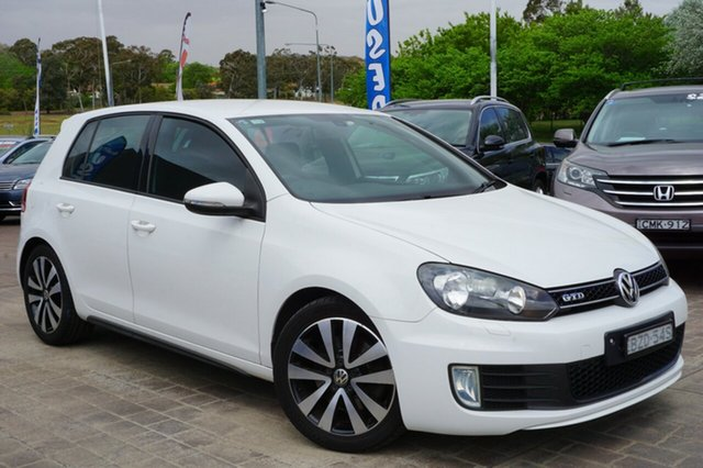 Used Volkswagen Golf VI MY11 GTD DSG, 2011 Volkswagen Golf VI MY11 GTD DSG White 6 Speed Sports Automatic Dual Clutch Hatchback
