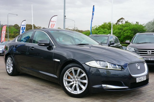 Used Jaguar XF X250 MY12 Luxury, 2012 Jaguar XF X250 MY12 Luxury Grey 8 Speed Sports Automatic Sedan