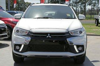 2018 Mitsubishi ASX XC MY19 ES 2WD ADAS White 6 Speed Constant Variable Wagon