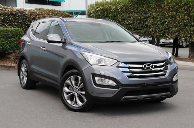 Used Hyundai Santa Fe DM MY13 Highlander, 2013 Hyundai Santa Fe DM MY13 Highlander Silver 6 Speed Sports Automatic Wagon
