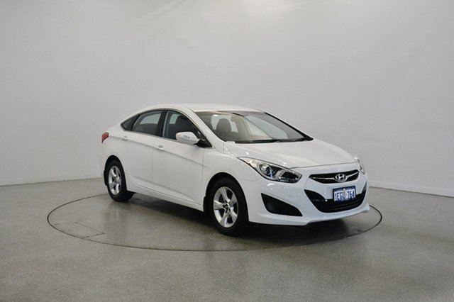 Used Hyundai i40 VF2 Active, 2013 Hyundai i40 VF2 Active White 6 Speed Sports Automatic Sedan