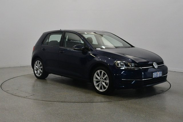 Used Volkswagen Golf 7.5 MY17 110TSI DSG Comfortline, 2017 Volkswagen Golf 7.5 MY17 110TSI DSG Comfortline Blue 7 Speed Sports Automatic Dual Clutch
