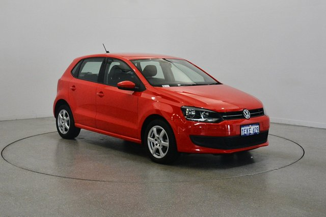 Used Volkswagen Polo 6R MY13.5 77TSI DSG Comfortline, 2013 Volkswagen Polo 6R MY13.5 77TSI DSG Comfortline Flash Red 7 Speed Sports Automatic Dual Clutch