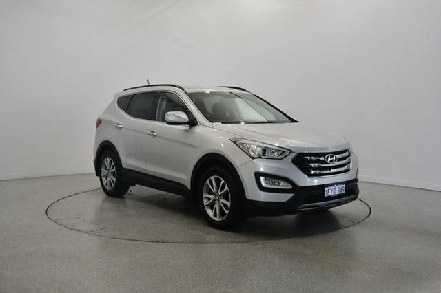 Used Hyundai Santa Fe DM MY13 Elite, 2013 Hyundai Santa Fe DM MY13 Elite Silver 6 Speed Sports Automatic Wagon
