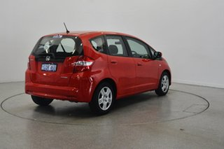 2011 Honda Jazz GE MY12 GLi Red 5 Speed Manual Hatchback.