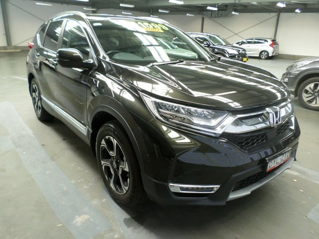 Used Honda CR-V RW MY18 VTi-LX 4WD, 2018 Honda CR-V RW MY18 VTi-LX 4WD Midnight Forest 1 Speed Constant Variable Wagon
