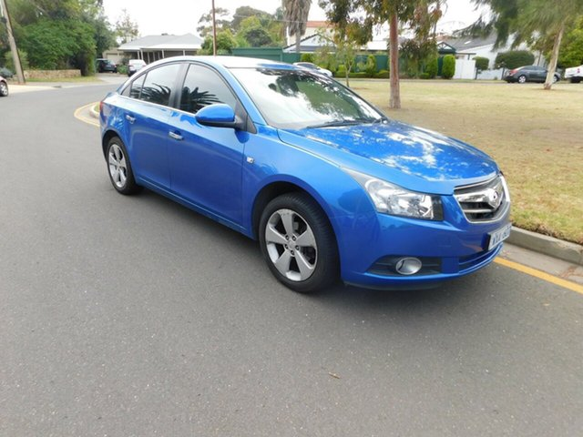 Used Holden Cruze JG CDX, 2009 Holden Cruze JG CDX Blue 5 Speed Manual Sedan