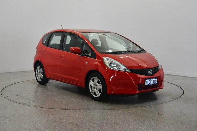Used Honda Jazz GE MY12 GLi, 2011 Honda Jazz GE MY12 GLi Red 5 Speed Manual Hatchback