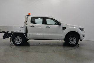 2016 Ford Ranger PX MkII XL Double Cab 4x2 Hi-Rider White 6 Speed Sports Automatic Cab Chassis.