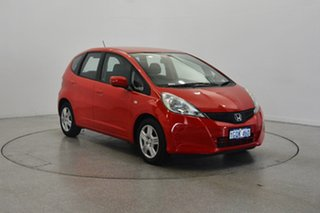 2011 Honda Jazz GE MY12 GLi Red 5 Speed Manual Hatchback