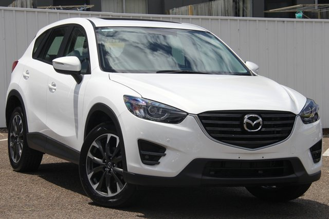 Used Mazda CX-5 KE1032 Grand Touring SKYACTIV-Drive i-ACTIV AWD, 2016 Mazda CX-5 KE1032 Grand Touring SKYACTIV-Drive i-ACTIV AWD White 6 Speed Sports Automatic Wagon