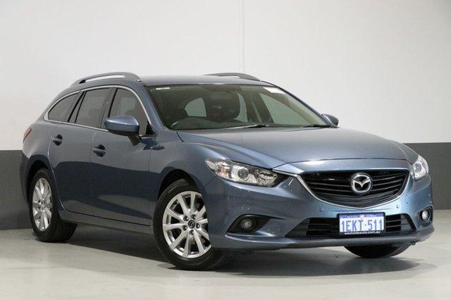 Used Mazda 6 6C Touring, 2013 Mazda 6 6C Touring Blue 6 Speed Automatic Wagon