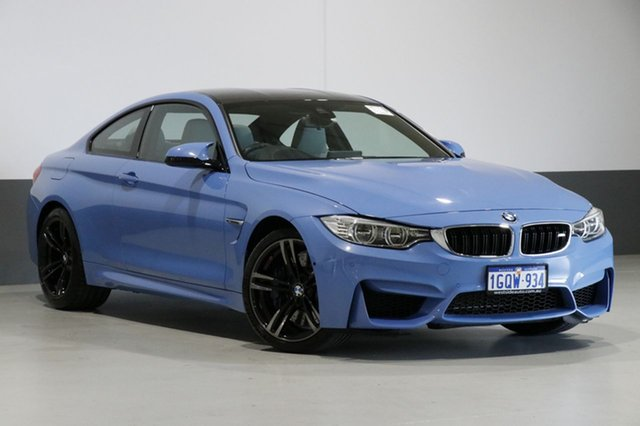 Used BMW M4 F82 LCI , 2016 BMW M4 F82 LCI Yas Marina Blue 7 Speed Auto Dual Clutch Coupe