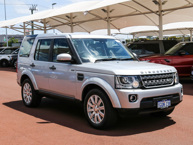 Used Land Rover Discovery MY14 3.0 TDV6, 2014 Land Rover Discovery MY14 3.0 TDV6 Silver 8 Speed Automatic Wagon