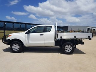 2012 Mazda BT-50 UP0YF1 XT 4x2 Hi-Rider White 6 Speed Sports Automatic Utility