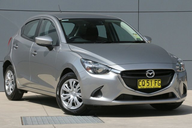 Demo Mazda 2 DJ2HAA Neo SKYACTIV-Drive, 2018 Mazda 2 DJ2HAA Neo SKYACTIV-Drive Aluminium 6 Speed Sports Automatic Hatchback