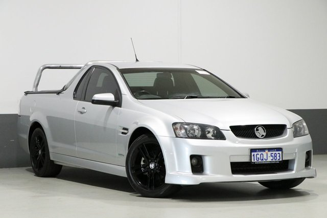 Used Holden Commodore VE MY10 SV6, 2010 Holden Commodore VE MY10 SV6 Silver 6 Speed Manual Utility