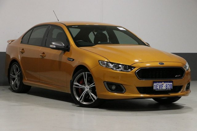Used Ford Falcon FG X XR8, 2015 Ford Falcon FG X XR8 Victory Gold 6 Speed Auto Seq Sportshift Sedan