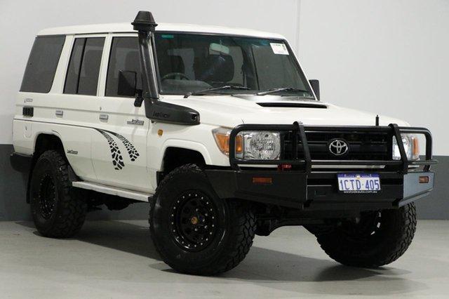 Used Toyota Landcruiser VDJ76R Workmate (4x4), 2007 Toyota Landcruiser VDJ76R Workmate (4x4) White 5 Speed Manual Wagon