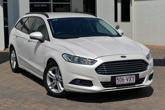 Used Ford Mondeo MD Ambiente PwrShift, 2015 Ford Mondeo MD Ambiente PwrShift 6 Speed Sports Automatic Dual Clutch Wagon