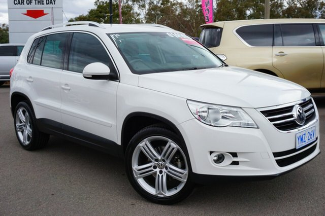 Used Volkswagen Tiguan 5N MY11 147TSI DSG 4MOTION, 2010 Volkswagen Tiguan 5N MY11 147TSI DSG 4MOTION White 7 Speed Sports Automatic Dual Clutch Wagon