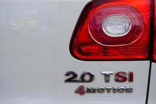 2010 Volkswagen Tiguan 5N MY11 147TSI DSG 4MOTION White 7 Speed Sports Automatic Dual Clutch Wagon