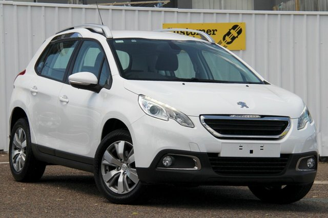 Used Peugeot 2008 A94 Active, 2014 Peugeot 2008 A94 Active White 4 Speed Sports Automatic Wagon