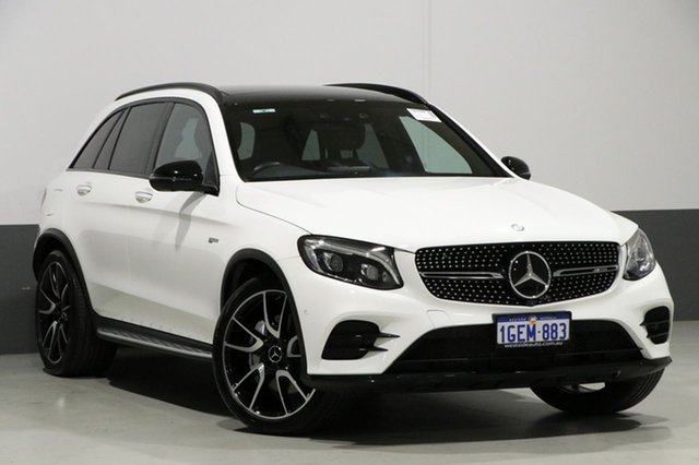 Used Mercedes-AMG GLC43 253 MY17 , 2016 Mercedes-AMG GLC43 253 MY17 White 9 Speed Automatic G-Tronic Wagon
