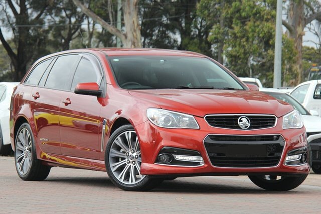 Used Holden Commodore VF MY15 SS Sportwagon Storm, 2015 Holden Commodore VF MY15 SS Sportwagon Storm Some Like It Hot 6 Speed Sports Automatic Wagon