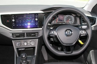 2018 Volkswagen Polo AW MY18 85TSI Comfortline Pure White 6 Speed Manual Hatchback
