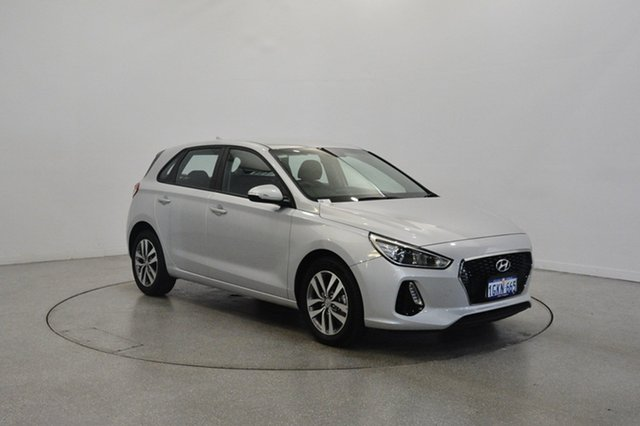 Used Hyundai i30 PD MY18 Active, 2017 Hyundai i30 PD MY18 Active Platinum Silver Metallic 6 Speed Sports Automatic Hatchback