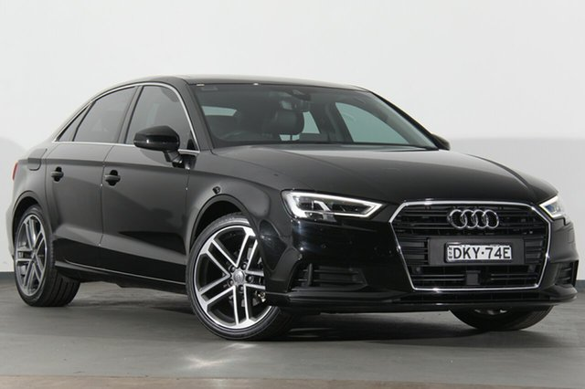 Used Audi A3 8V MY16 Attraction S tronic, 2016 Audi A3 8V MY16 Attraction S tronic Black 7 Speed Sports Automatic Dual Clutch Sedan