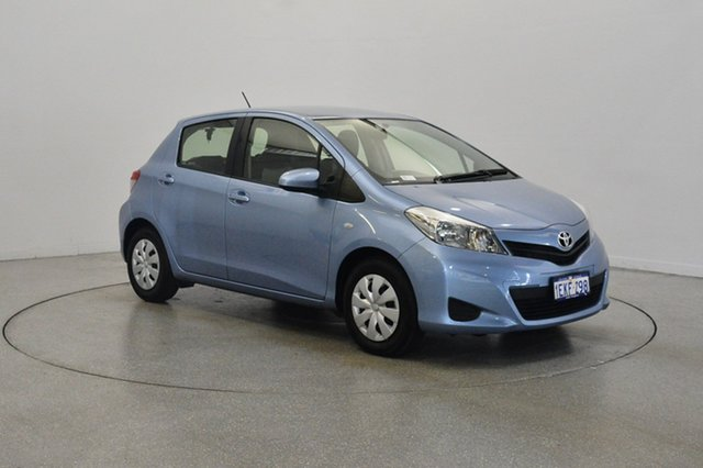 Used Toyota Yaris NCP130R YR, 2013 Toyota Yaris NCP130R YR Blue 4 Speed Automatic Hatchback