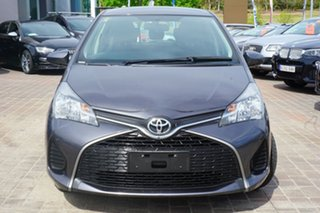 2015 Toyota Yaris NCP130R Ascent Grey 4 Speed Automatic Hatchback.