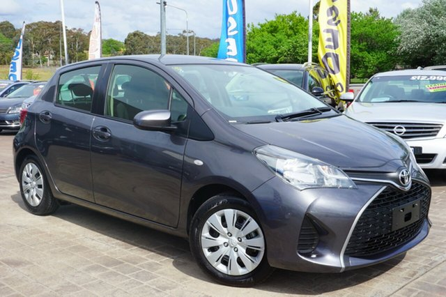 Used Toyota Yaris NCP130R Ascent, 2015 Toyota Yaris NCP130R Ascent Grey 4 Speed Automatic Hatchback