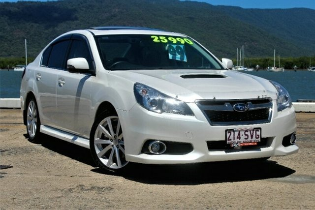 Used Subaru Liberty B5 MY13 GT AWD Premium, 2013 Subaru Liberty B5 MY13 GT AWD Premium White 5 Speed Sports Automatic Sedan