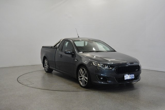 Used Ford Falcon FG X XR6 Ute Super Cab Turbo, 2016 Ford Falcon FG X XR6 Ute Super Cab Turbo Grey 6 Speed Manual Utility