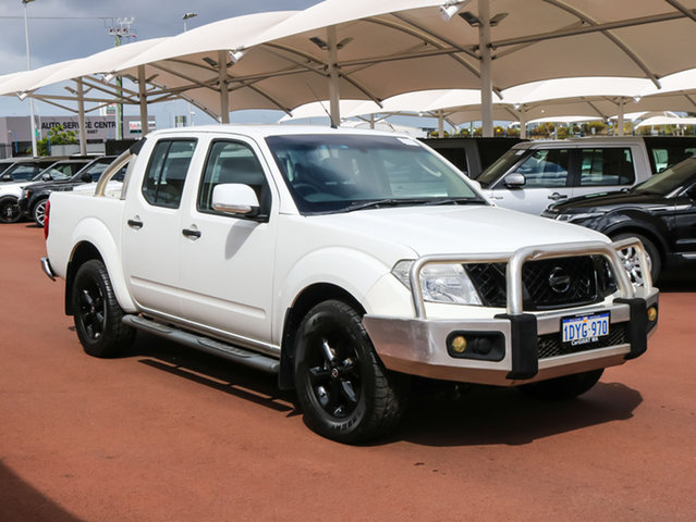 Used Nissan Navara D40 MY12 ST (4x2), 2012 Nissan Navara D40 MY12 ST (4x2) White 6 Speed Manual Dual Cab Pick-up