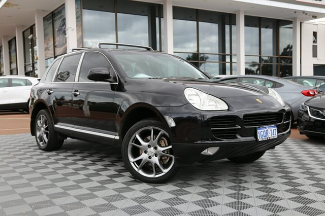 Used Porsche Cayenne 9PA S, 2003 Porsche Cayenne 9PA S Black 6 Speed Sports Automatic Wagon