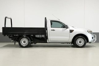 2012 Ford Ranger PX XL 2.2 (4x2) Silver 6 Speed Manual Cab Chassis