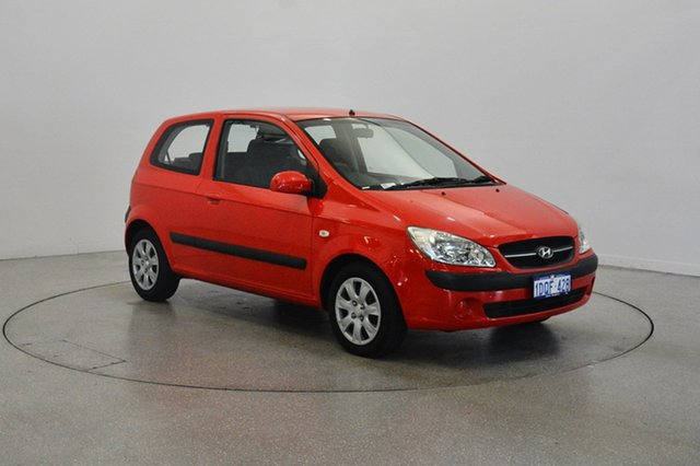 Used Hyundai Getz TB MY09 S, 2011 Hyundai Getz TB MY09 S Red 4 Speed Automatic Hatchback
