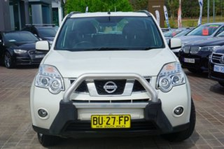 2012 Nissan X-Trail T31 Series V ST White 1 Speed Constant Variable Wagon.