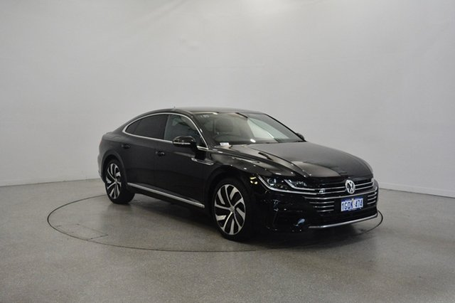 Used Volkswagen Arteon 3H MY18 206TSI Sedan DSG 4MOTION R-Line, 2018 Volkswagen Arteon 3H MY18 206TSI Sedan DSG 4MOTION R-Line Deep Black Pearl 7 Speed