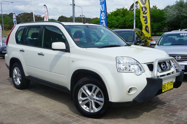 Used Nissan X-Trail T31 Series V ST, 2012 Nissan X-Trail T31 Series V ST White 1 Speed Constant Variable Wagon