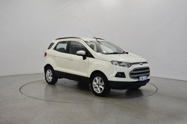 Used Ford Ecosport BK Trend PwrShift, 2014 Ford Ecosport BK Trend PwrShift White 6 Speed Sports Automatic Dual Clutch Wagon