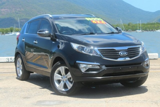 Used Kia Sportage SL MY13 SLi, 2013 Kia Sportage SL MY13 SLi Black 6 Speed Sports Automatic Wagon